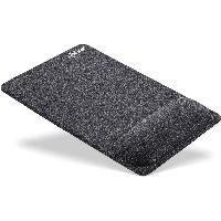 InLine 55262 InLine® Mauspad mit Handballenauflage, textil, schwarz