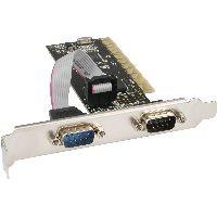 InLine 66636I InLine® Schnittstellenkarte, 2x 9pol seriell, PCI