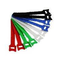 InLine 59943D InLine® Kabelbinder 12x125mm, Klett-Verschluss, 10er, 5 versch. Farben