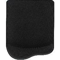 InLine 55453S InLine® Maus-Pad, schwarz, mit Gel Handballenauflage, 235x185x25mm