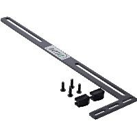 InLine 59955 InLine® Halterung für Grafikkarte, PCI Slotblech Montage, schwarz