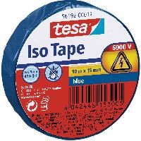 tesa 56192-00012-22 tesa Isolierklebeband, 10m x 15mm, blau