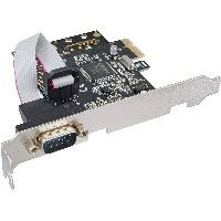 InLine 76618D InLine® Schnittstellenkarte, 1x Seriell 9-pol, PCIe (PCI-Express)