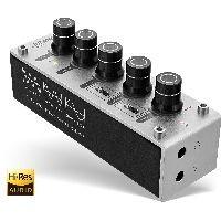 InLine 99201I InLine® AmpEQ Hi-Res AUDIO Kopfhörer-Verstärker und Equalizer, 3,5mm Klinke, USB power