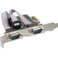 InLine 76619C InLine® Schnittstellenkarte, 2x Seriell 9-pol, PCIe (PCI-Express)