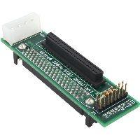 InLine 82680 InLine® SCSI-SCA U320 Adapter, 80pol Buchse auf 68pol mini Sub D Buchse