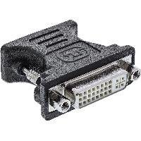 InLine 17790 InLine® DVI-A Adapter, Analog 24+5 Buchse auf 15pol HD Stecker (VGA)