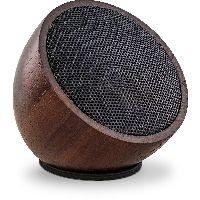 InLine 55380H InLine® woodwoom, Mini Bluetooth Walnuss-Holz Lautsprecher, 52mm