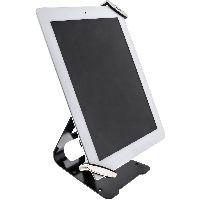 """InLine 55726 InLine® Tablet Halter universell 7""""-10.1"""" mit Sicherheitsschloss 1,5m, mit Schlüssel"""
