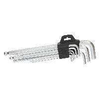 InLine 43085 InLine® Sechskant Schlüssel-Set, lang, 9-teilig