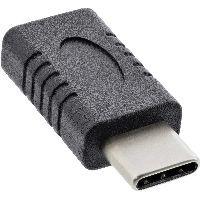 InLine 35802A InLine® USB 3.2 Gen.2 Adapter, Typ C Stecker an C Buchse