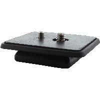 InLine 48015X InLine® Stativ-Zubehör, Kamera Schnellwechselplatte, rechteckige Form
