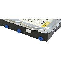 InLine 00244A InLine® Silikon Unterlegscheiben, zur Laufwerks-Entkopplung, 8 Stück