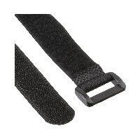 InLine 59945H InLine® Klettschlaufen 20x300mm, 10er, schwarz