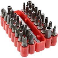 InLine 43034 InLine® Spezial Bitsatz, für Schraubendreher, 33-teilig