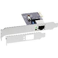 InLine 51125L InLine® Gigabit Netzwerkkarte, PCI Express 1GBit/s, PCIe x1, inkl. low profile Slotble
