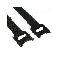 InLine 59943K InLine® Kabelbinder 12x125mm, Klett-Verschluss, 10er, schwarz