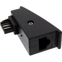 InLine 69948F InLine® TAE-F Adapter, TAE-F Stecker auf RJ45 Buchse, 8P2C für Fritzbox