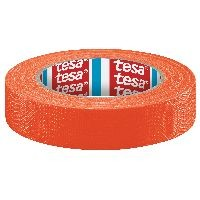 tesa 04671-00049-10 tesaband Gewebeband, 25m x 19mm, neonorange
