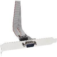 InLine 33209 InLine® Serielles Slotblech, 9-pol Stecker an 10-pol Buchsenleiste