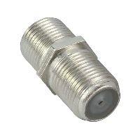 InLine 69913B InLine® SAT F-Verbinder (Doppelbuchse, F-Kupplung), 100er Pack, bulk