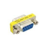 InLine 42214 InLine® Mini-Gender-Changer, 9pol Stecker / Buchse