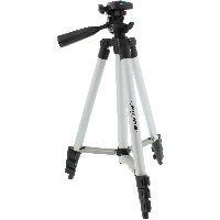 InLine 48002B InLine® Stativ für Digitalkameras und Videokameras, Aluminium, Höhe max. 1,06m