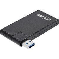 InLine 35391 InLine® 180 Twist Hub USB 3.0, 4 Port, drehbar, schwarz