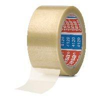 tesa 04120-00008-00 tesa pack Verpackungsklebeband PVC, 66m x 50mm, transparent