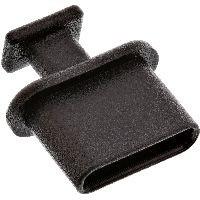 InLine 59948M InLine® Staubschutz, für USB Typ-C Buchse, schwarz, 50er Pack