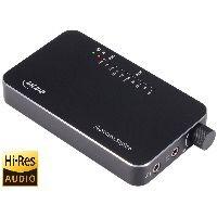 InLine 99205I InLine® Mobile AmpUSB, Hi-Res AUDIO HiFi DSD Kopfhörer-Verstärker, USB Digital Audio K