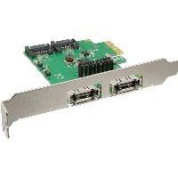 InLine 76696B InLine® Schnittstellenkarte, 2+2-fach SATA 6Gb/s, PCIe, kein RAID