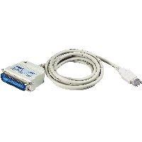 Aten UC1284B ATEN UC1284B Drucker-Adapterkabel USB zu Parallel IEEE1284, 1,8 m