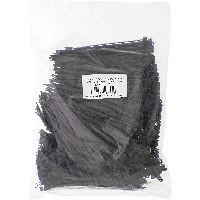 InLine 59963W InLine® Kabelbinder, Länge 140mm, Breite 3,6mm, schwarz, 1000 Stück, bulk