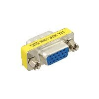 InLine 47714 InLine® Mini-Gender-Changer, 15pol HD (VGA), Stecker / Buchse