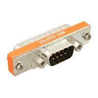 InLine 31219L InLine® AT-Adapter, 9pol Sub D Stecker an 25pol Sub D Stecker, kurz