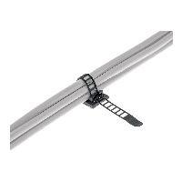 InLine 59969B InLine® Kabelbinder Bündelklemme 64mm, schwarz, 10 Stück