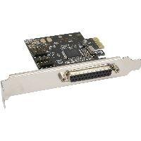 InLine 76624C InLine® Schnittstellenkarte, 1x 25pol parallel + 2x 9pol seriell, PCIe (PCI-Express)