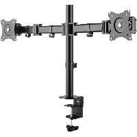 """InLine 23104C InLine® Tischhalterung für 2x TFT/LCD/LED bis 68cm (27""""), max. 2x8kg"""