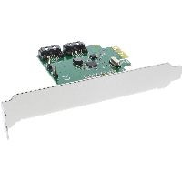 InLine 76696C InLine® Schnittstellenkarte, 2-fach SATA 6Gb/s, x1 PCIe 2.0, RAID 0/1/SPAN, mit Low-Pr