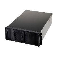 """Fantec 3214 FANTEC TCG-4860X07-1, 19"""" Servergehäuse 4HE, ohne Netzteil, 688mm tief, schwarz"""