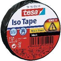 tesa 56192-00010-22 tesa Isolierklebeband, 10m x 15mm, schwarz