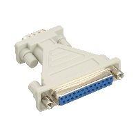 InLine 31249 InLine® AT-Adapter, 25pol Sub D Buchse an 9pol Sub D Stecker