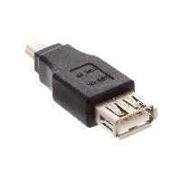 InLine 33500B InLine® USB 2.0 Adapter, Buchse A auf Mini-5pol Stecker