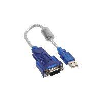 InLine 33304D InLine® USB zu Seriell Adapterkabel Premium, Stecker A an 9pol Sub D Stecker
