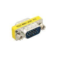 InLine 37714 InLine® Mini-Gender-Changer, 15pol HD (VGA), Stecker / Stecker
