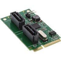 InLine 66907 InLine® Mini-PCIe 2.0 Karte, 2x SATA 6Gb/s, RAID 0,1,SPAN