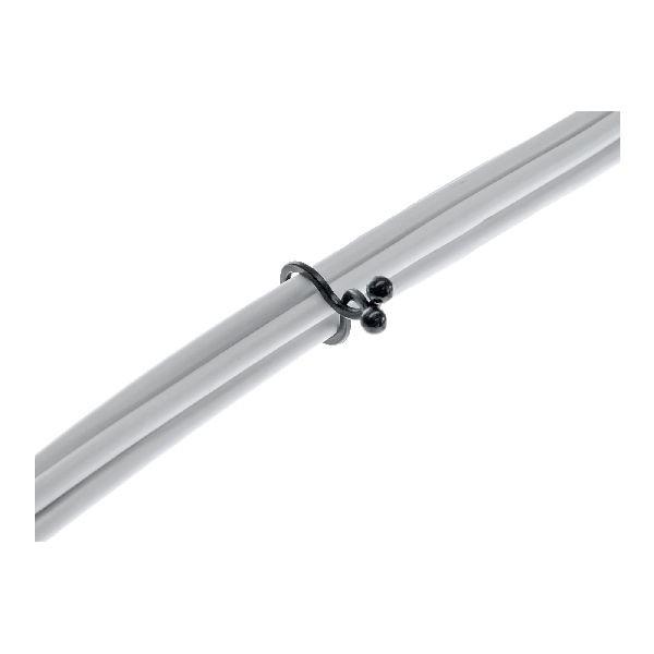 InLine 59966I InLine® Kabelbinder Twist 3,5-5mm, schwarz, 10 Stück