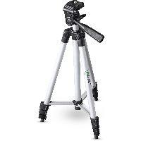 InLine 48002C InLine® Stativ für Digitalkameras und Videokameras, Aluminium, Höhe max. 1,30m