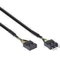 InLine 19995D InLine® Audiokabel Verlängerung intern, für HD audio und AC97, 40cm